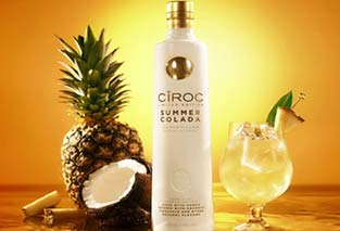 Ciroc Colada Launch Party at Cafe de Paris