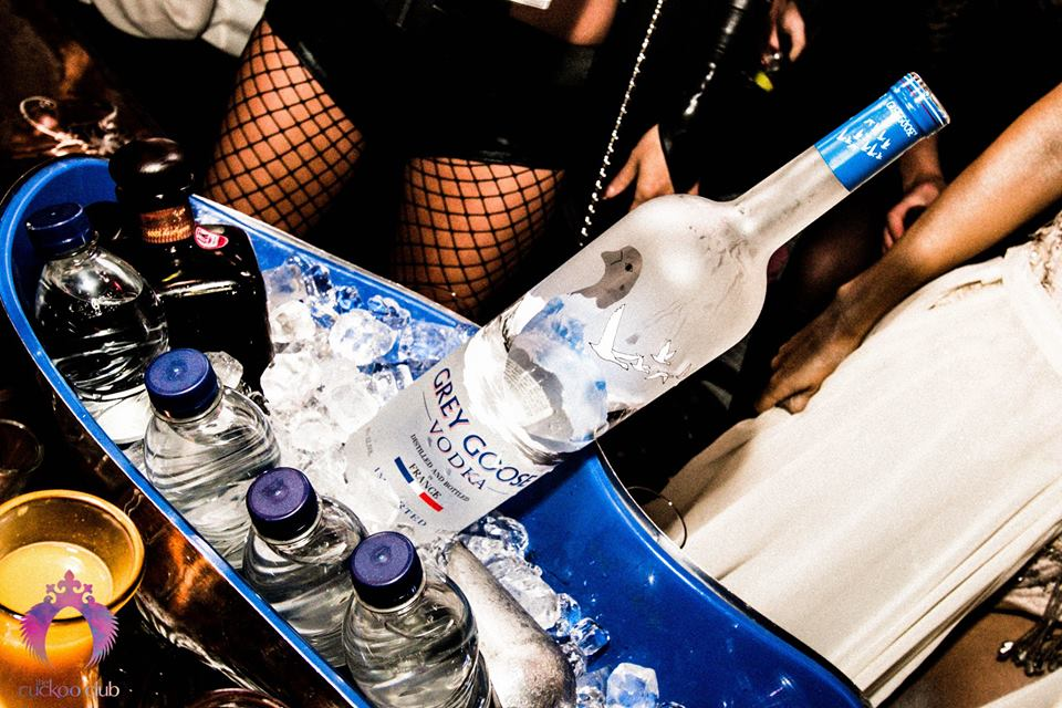 Cuckoo Club bottle service
