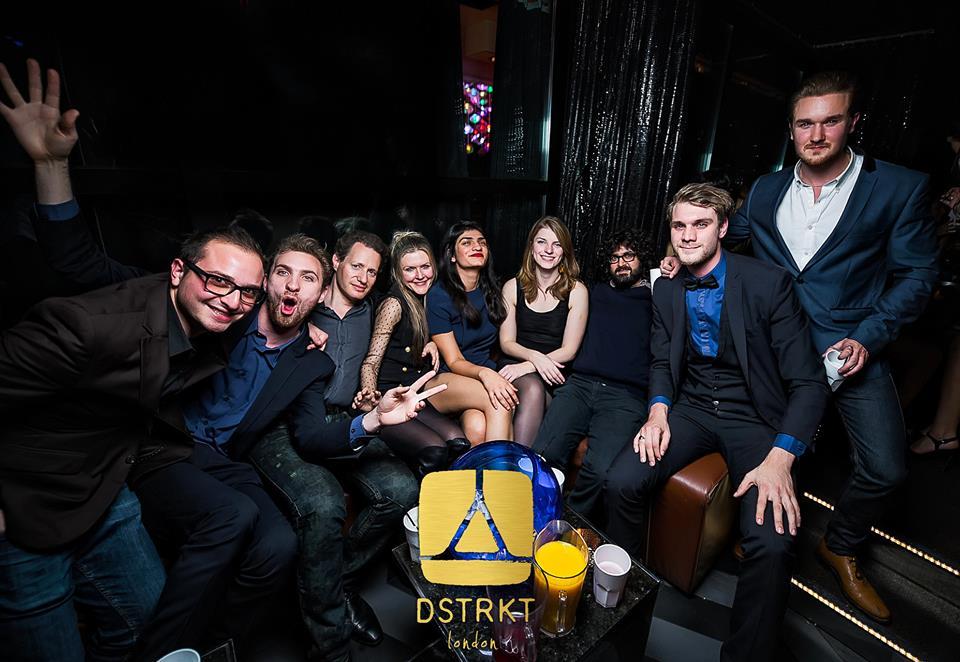 DSTRKT Table Booking