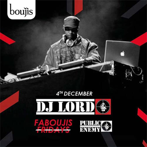 Faboujis Fridays at Boujis