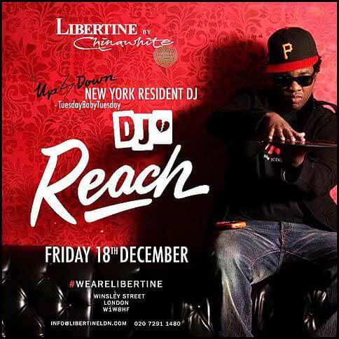 DJ Reach at Libertine