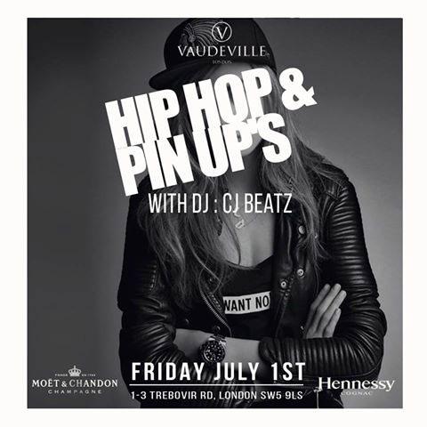 Hip hop & Pin Ups at Vaudeville