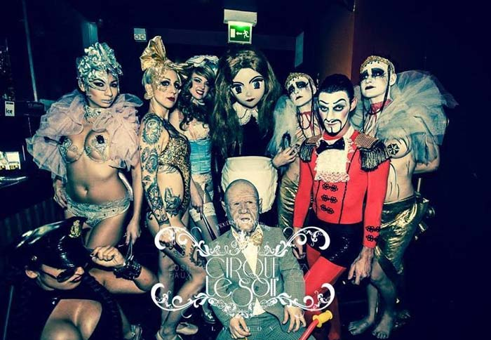 Cirque Le Soir Photo Gallery