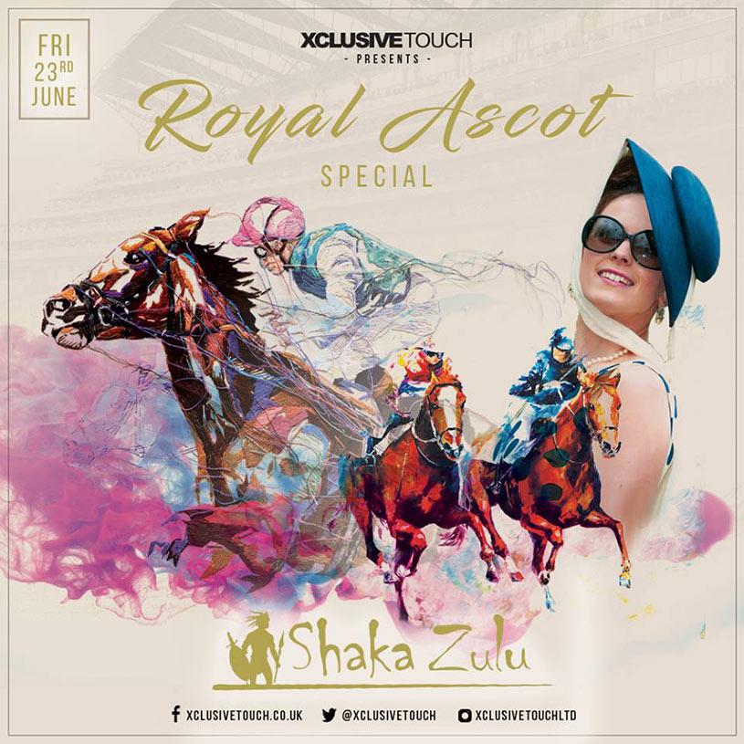 Royal Ascot Party at Shaka Zulu