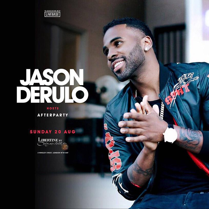 Jason Derulo at Libertine