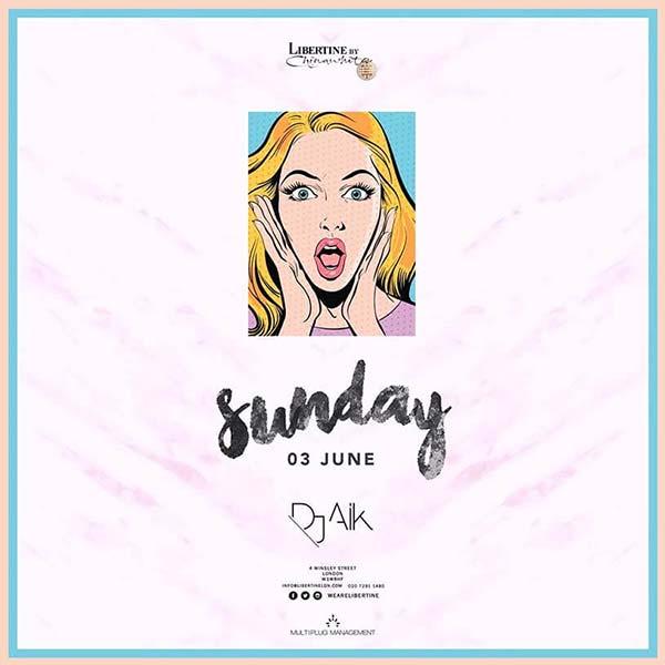Sunday – Funday at Libertine!