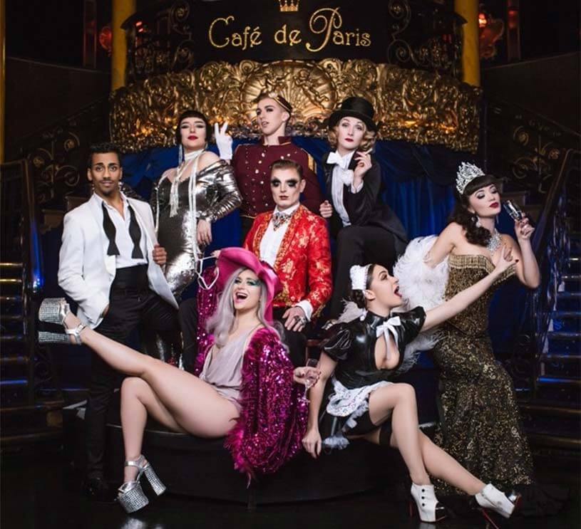 The Service this Friday at Café de Paris!