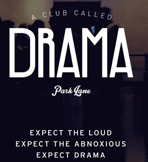 Expect Drama this Saturday at Drama Park Lane!