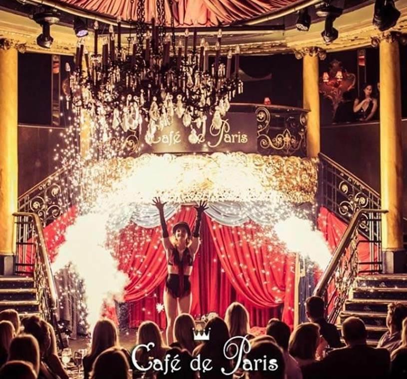 This Friday the night belongs to Cafe de Paris!