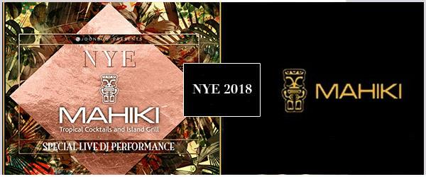 Mahiki NYE Party 2018 Tickets