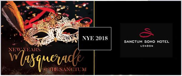 Sanctum Hotel NYE Party 2018 Tickets