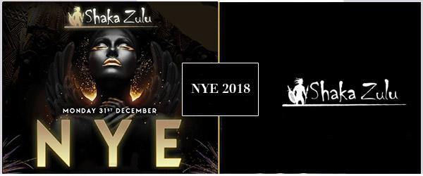 Shaka Zulu NYE Party 2018 Tickets
