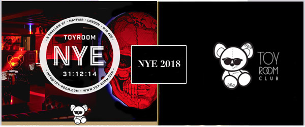 Toy Room NYE Party 2018 Tickets