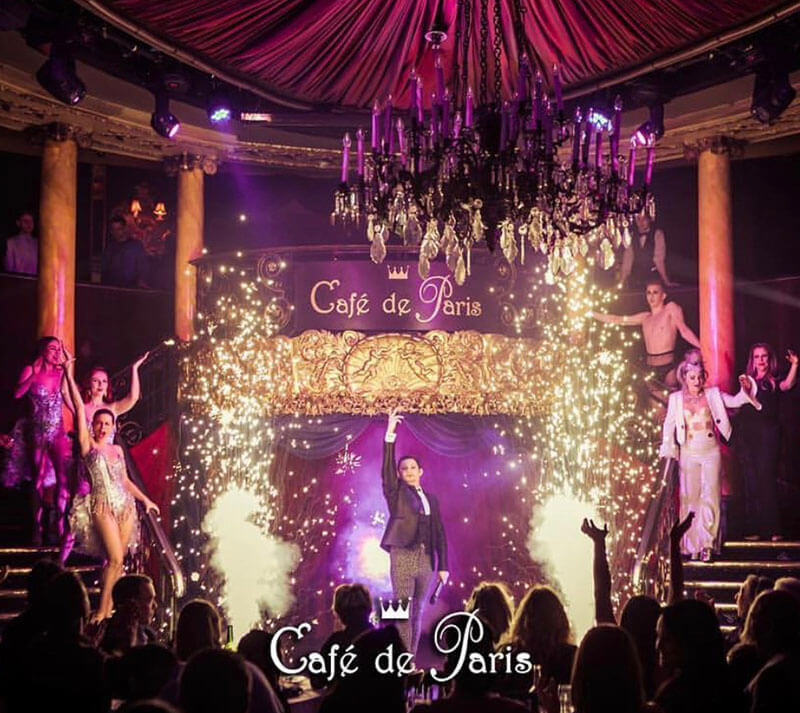 This Saturday the night belongs to Cafe de Paris!