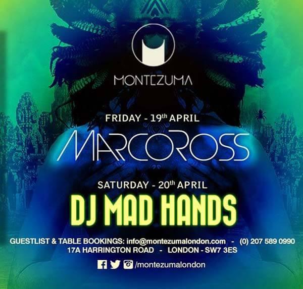 Mad Night by DJ Mand Hands at Montezuma!