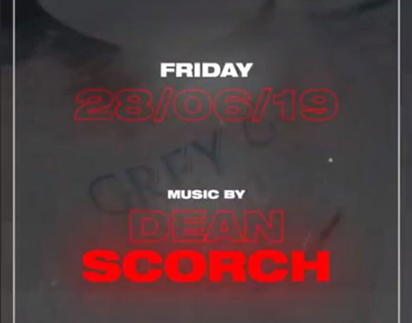 Join Dean Scorch this Friday at Reign!
