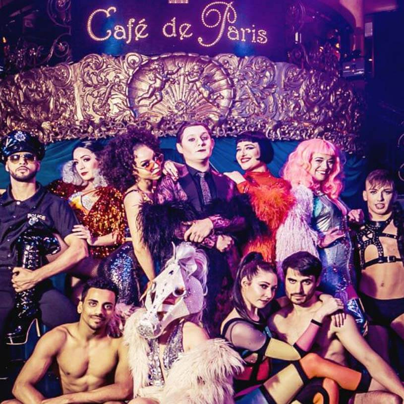 Cabaret at Cafe de Paris!