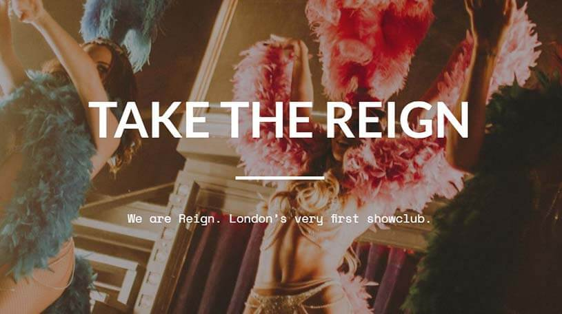 Saturday Night at London Reign Showclub!