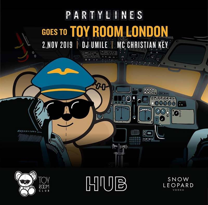 Saturday Night at Toy Room London!