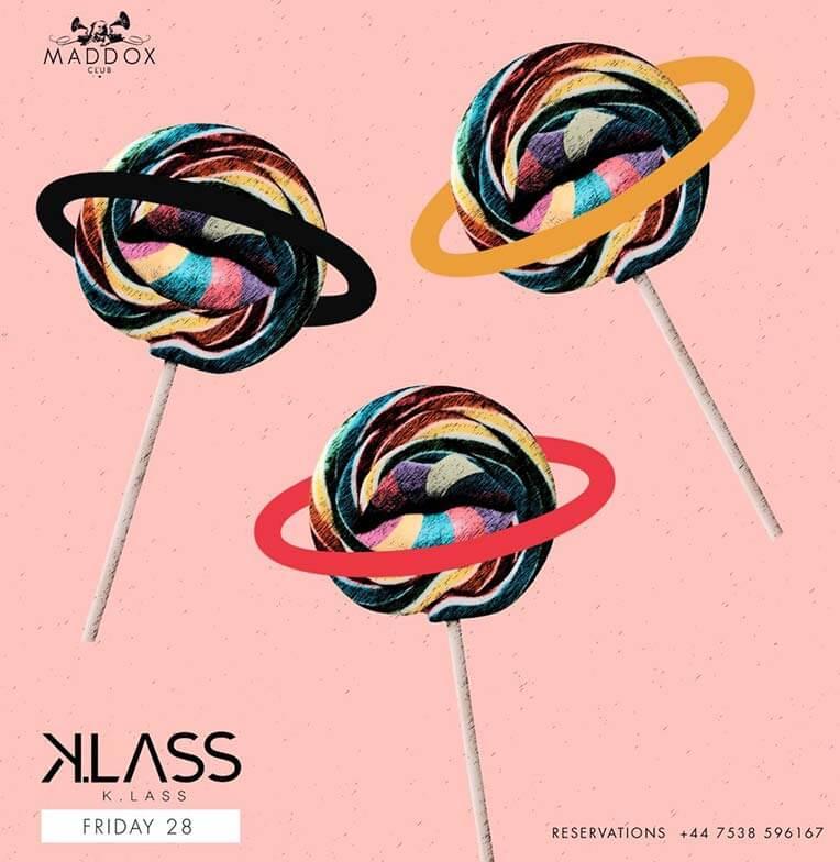 Music by Klass at London Maddox!