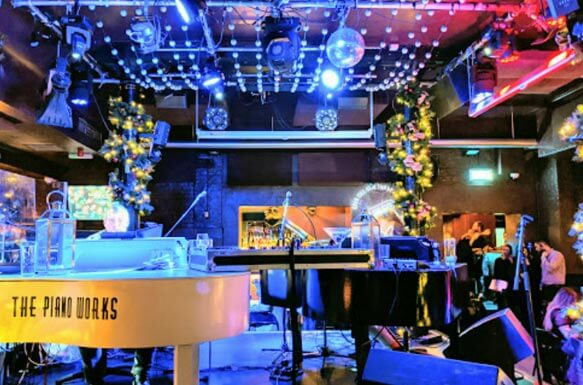 The Piano Works Club Table Booking